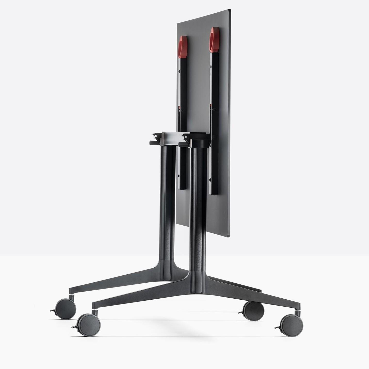 - Pedrali Ypsilon Folding Table With Wheels AmbienteDirect