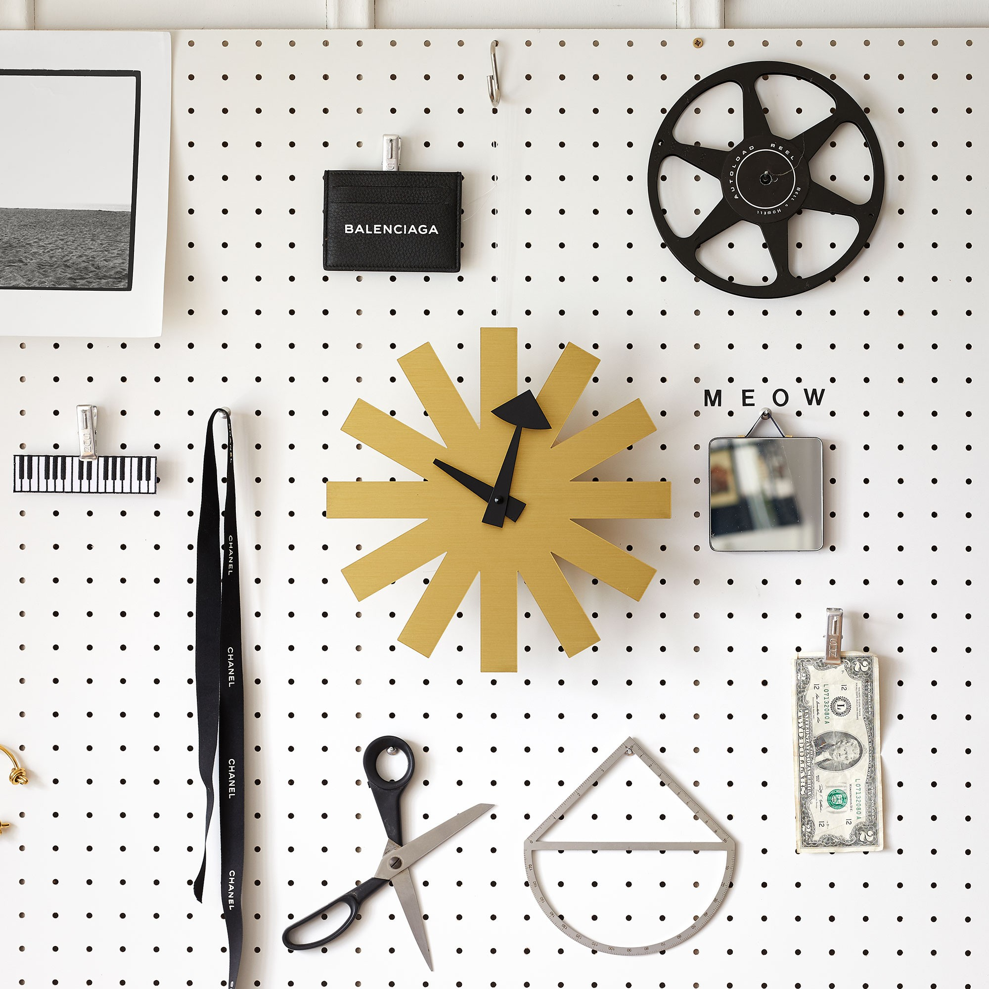 Vitra Asterisk Clock Nelson Wanduhr  Ambientedirect-5658