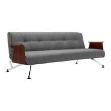 Innovation - Clubber Sofa Bed with Armrests 233x92cm