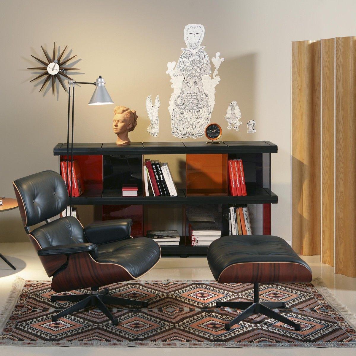 vitra eames lounge chair ottoman - Eames Lounge Stuhl Abmessungen