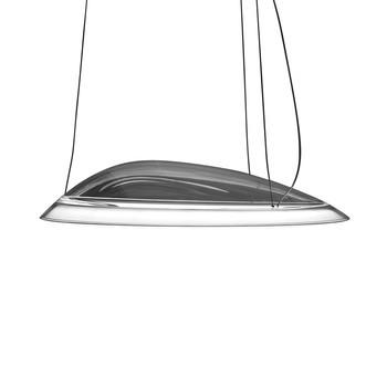 Artemide - Ameluna LED Pendelleuchte - transparent/Wärmeleiter/3000K/3276lm/CRI=90/H 15cm/Ø 75cm