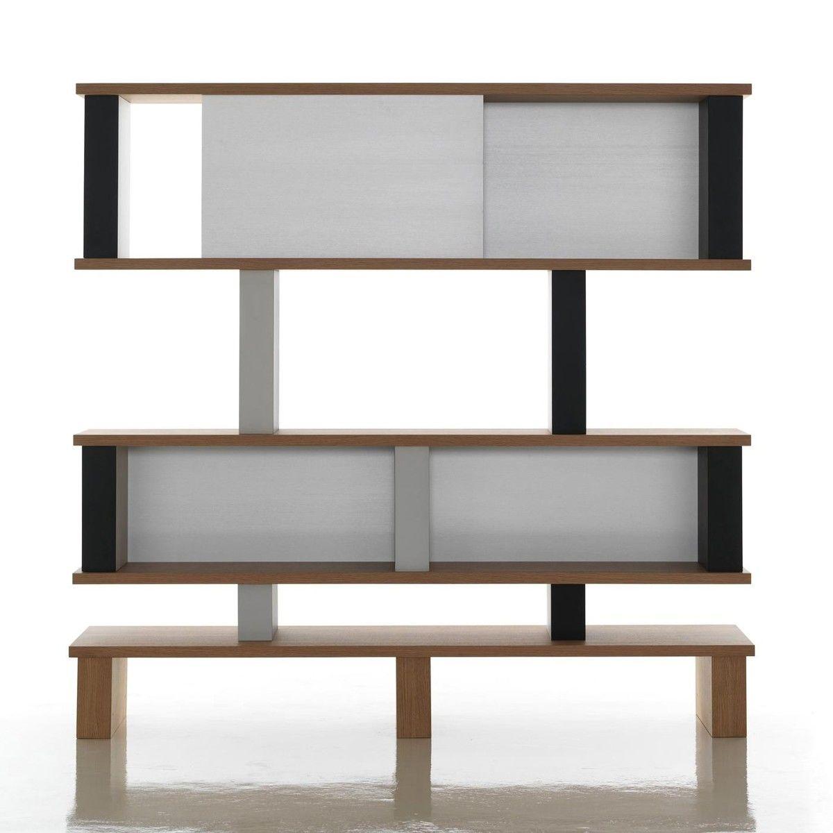 518 plurima regal cassina. Black Bedroom Furniture Sets. Home Design Ideas