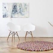 Vitra - Aktionsset Eames Plastic Armchair DAW + Fell