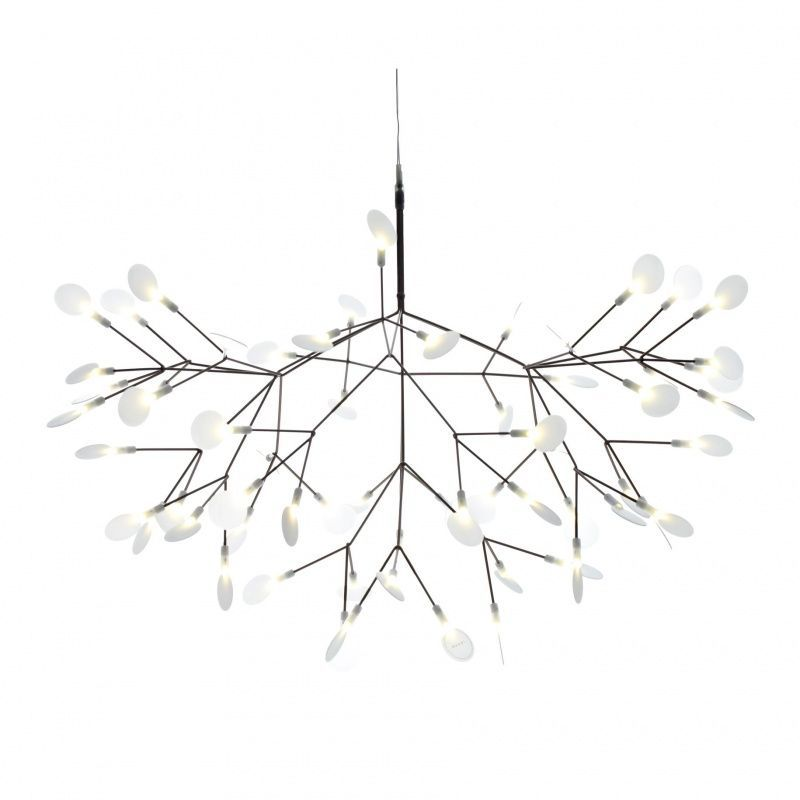 Heracleum lustre suspension moooi for Lustre suspension design