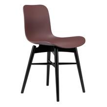 NORR 11 - Langue Original Stuhl Gestell schwarze Buche