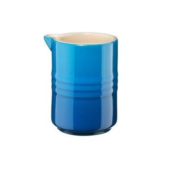 Le Creuset - Le Creuset Milchkännchen 0.15l - blau marseille/H: 9cm