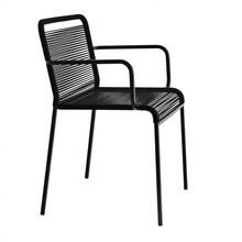 la palma - Chaise avec accoudoirs empilable Aria