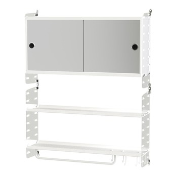 String - Wandregal Badezimmer 75x50x20cm