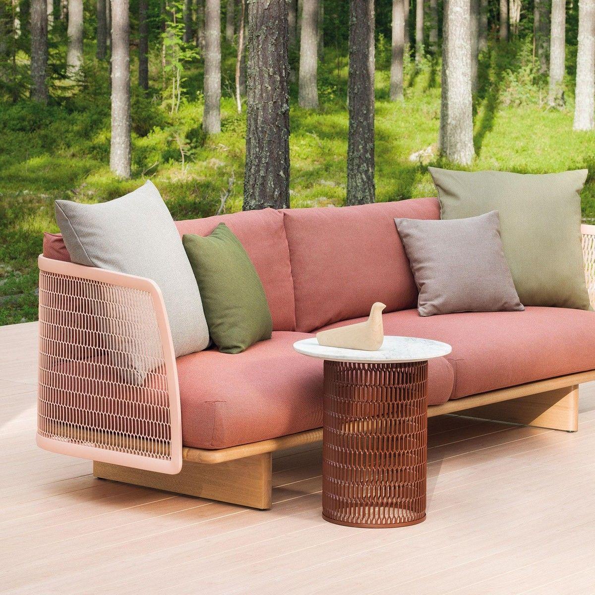 mesh canap outdoor kettal. Black Bedroom Furniture Sets. Home Design Ideas