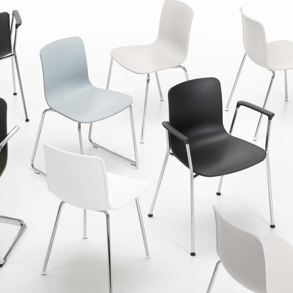 Hal Tube Chair Stackable Vitra
