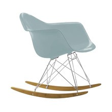 Vitra - Eames Plastic Armchair RAR schommelstoel