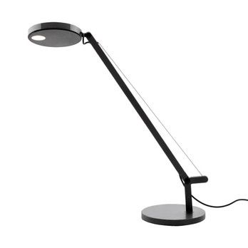 Artemide - Demetra Micro LED Table Lamp - black/glossy/dimmable/257lm/3000K/CRI90/LxWxH 13x12x51.5cm