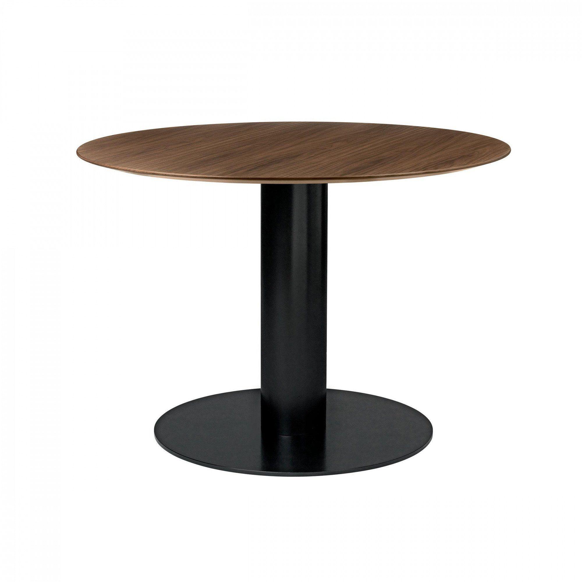 Gubi 2 0 Dining Table Black Base 216 110cm Ambientedirect