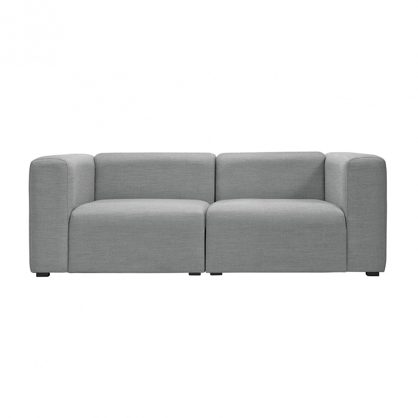 hay mags 2 seater sofa fabric surface ambientedirect. Black Bedroom Furniture Sets. Home Design Ideas