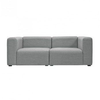 HAY - Mags 2-Sitzer Sofa Stoff Surface 194x95.5x67cm - grau/Stoff Surface 120