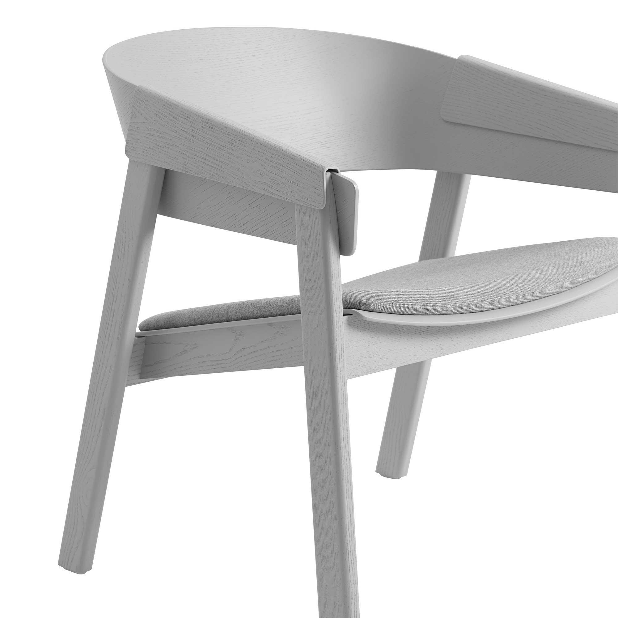 Muuto cover lounge stuhl gepolstert ambientedirect for Stuhl gepolstert