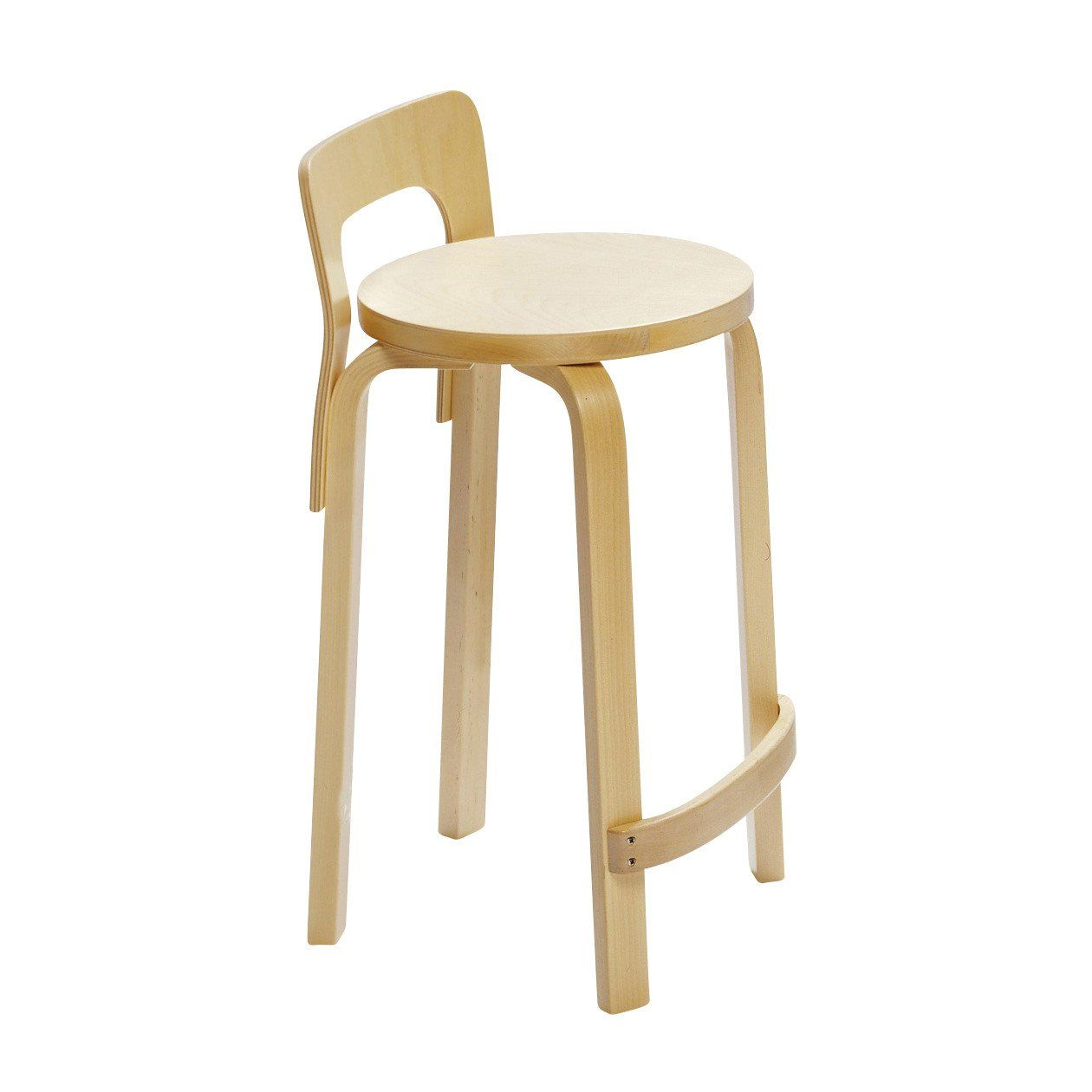 Artek K65 Kitchen And Bar Stool | AmbienteDirect