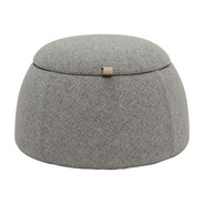 Bloomingville - Rock Hocker mit Stauraum