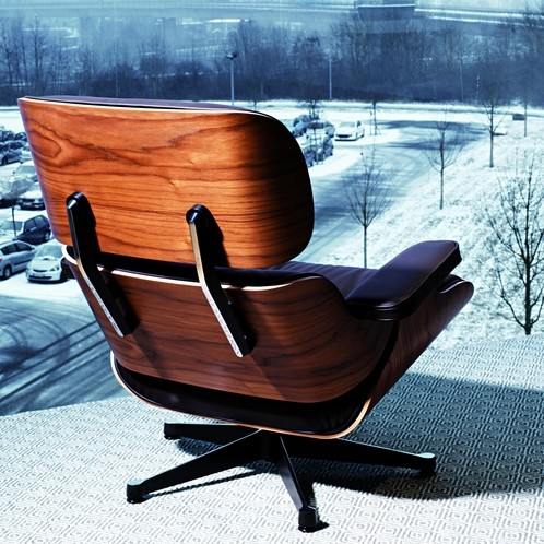 Vitra - Eames Lounge Chair Drehsessel
