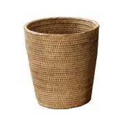 Decor Walther - Basket - Papelera - rattan dark