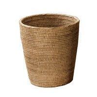 Decor Walther - Basket Korb/Papierkorb Rattan