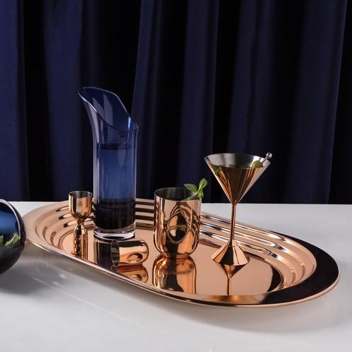 Tom Dixon - Plum Martini Cocktailglas 2er Set