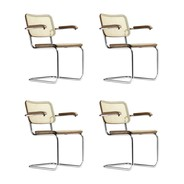 Thonet - Action Thonet S 64 Cantilever Armchair Set of 4