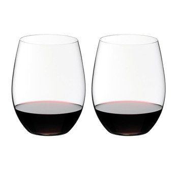 Riedel - O Wine Cabernet Weinglas 2er Set - transparent/H 12,1cm, 600ccm