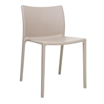 Magis - Air Chair Stuhl - beige/matt/für Innen- und Außenbereich geeignet