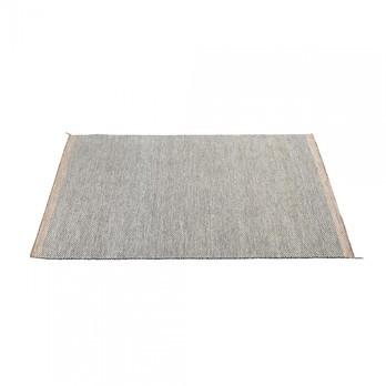 Muuto - Ply Teppich 170x240cm - schwarz-weiß