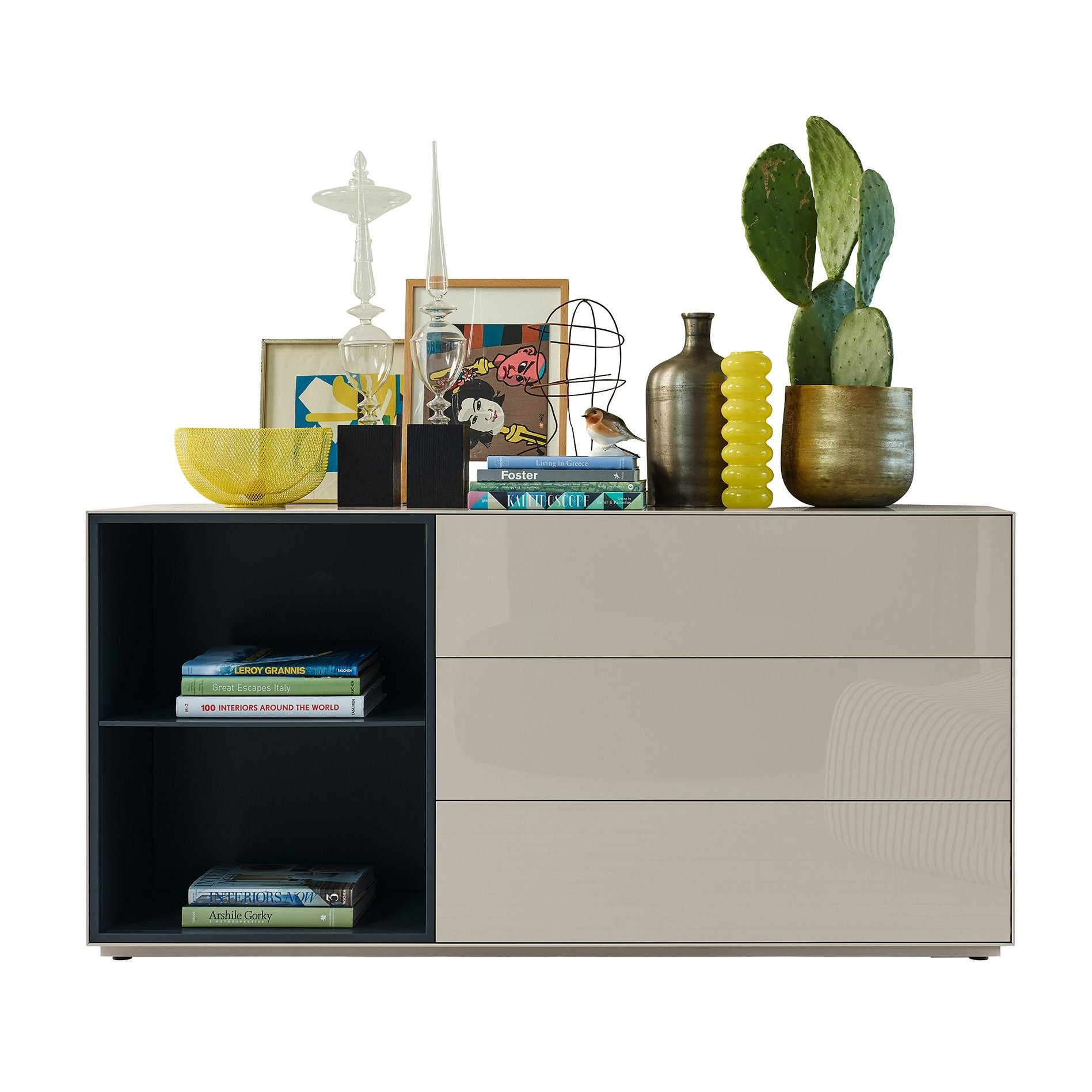 piure nex pur box sideboard kommode 160x78x48cm ambientedirect. Black Bedroom Furniture Sets. Home Design Ideas