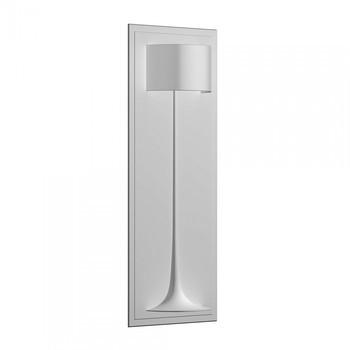 Flos - Soft Spun LED Large - weiß/Gips/Einbaurahmen 80x200x4cm