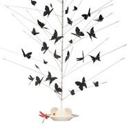 Ingo Maurer - La Festa delle Farfalle Set Schmetterlinge + Libelle