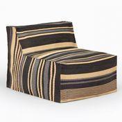 Weishäupl - Chill Armchair - grey striped
