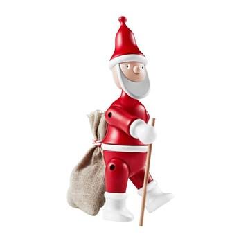 Kay Bojesen Denmark - Holzfigur Weihnachtsmann