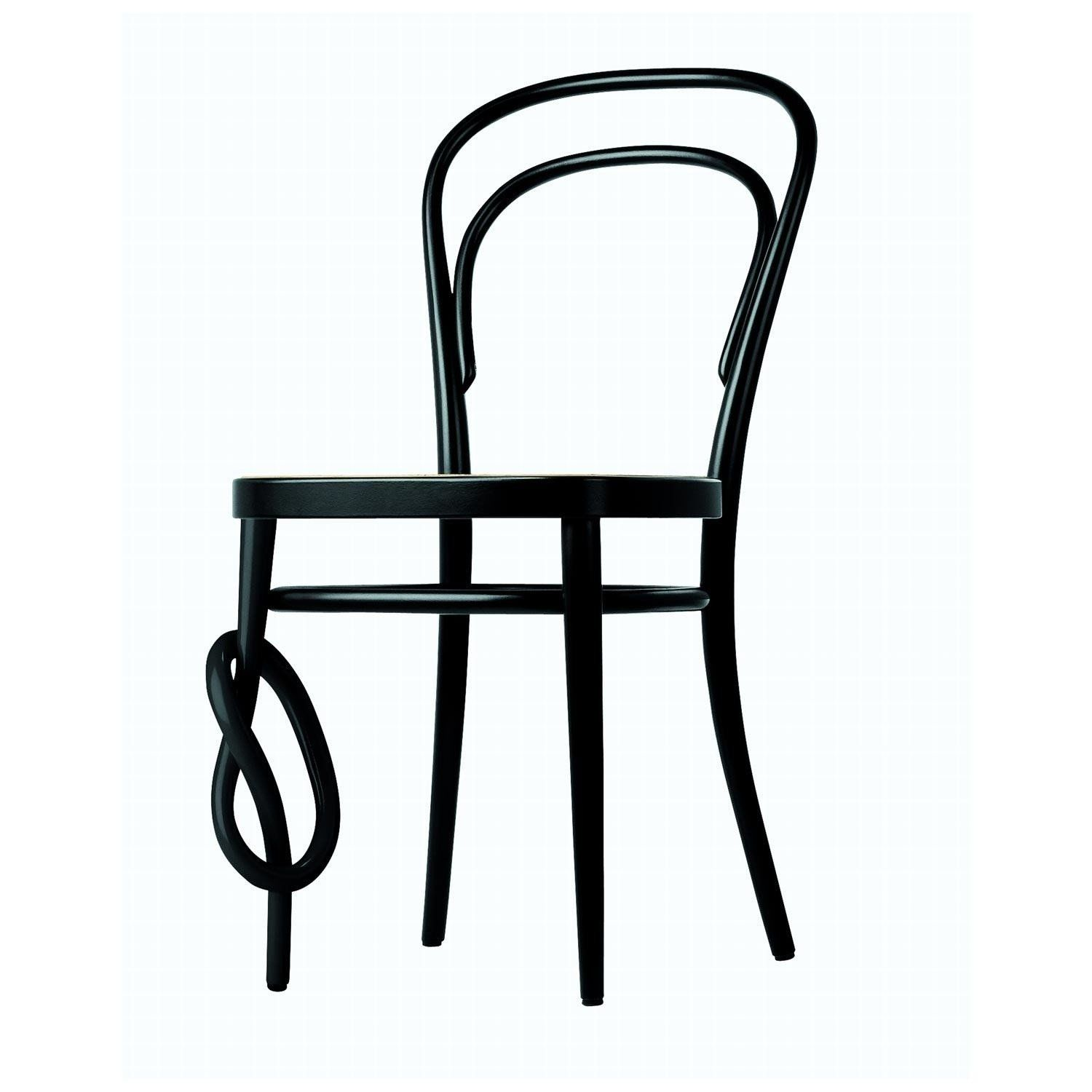 Thonet   Thonet 214 K Chair   Black/cane With Mesh ...