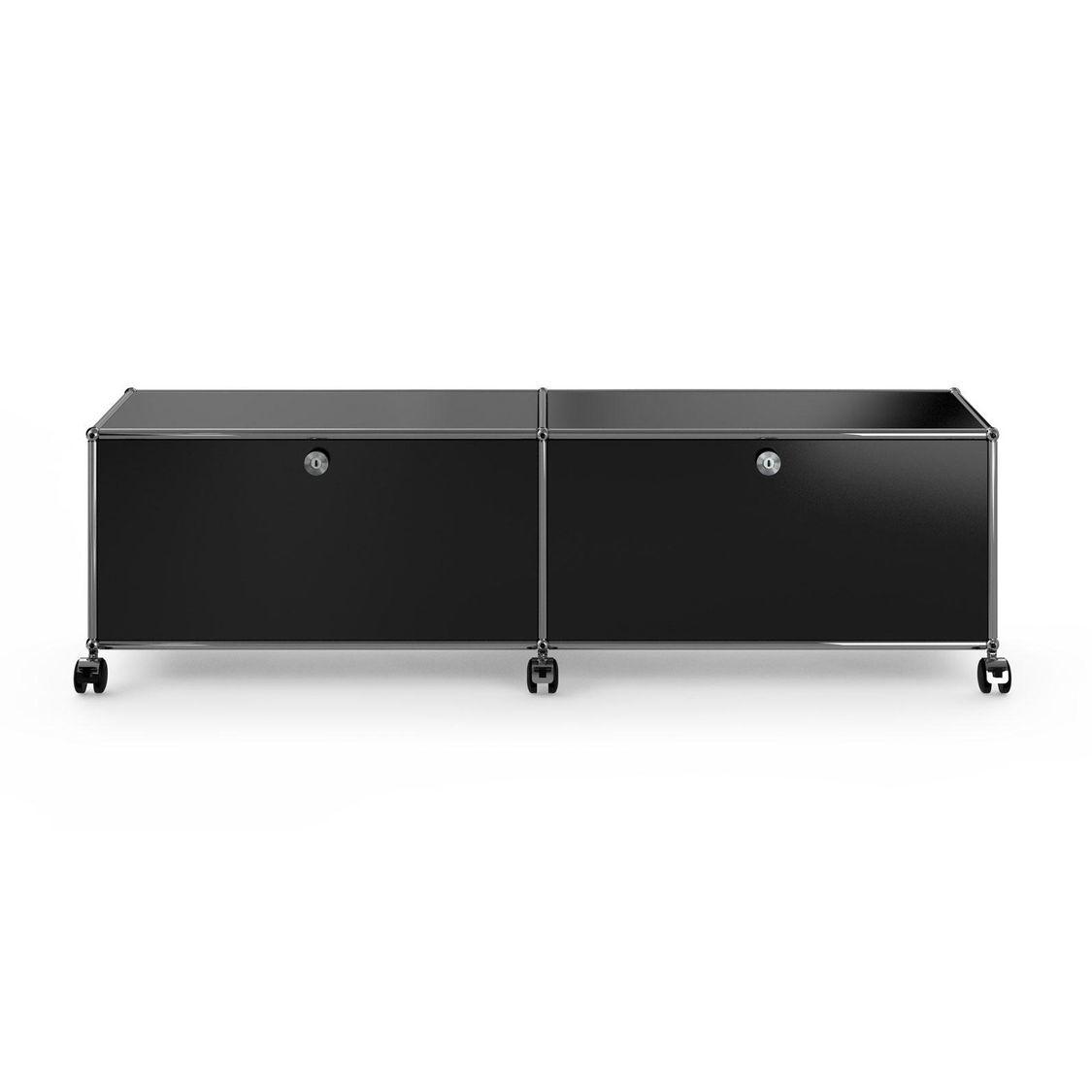 Usm Hi Fi Tv Board With 2 Folding Boards Usm Haller  # Meuble Tv Fold