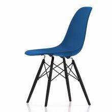 Vitra - Eames Plastic Side Chair DSW Maple Black H43cm