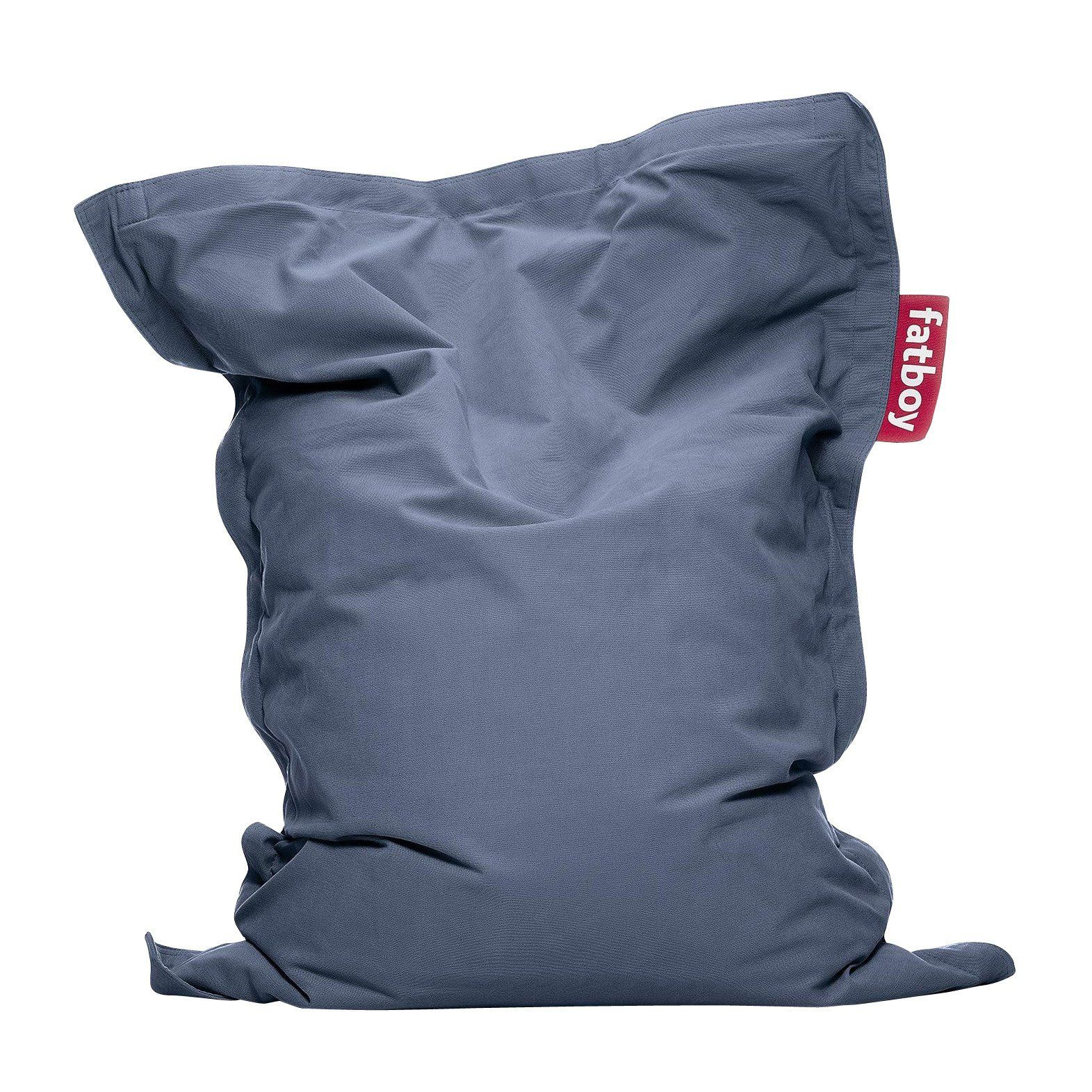 fatboy junior stonewashed pouf ambientedirect. Black Bedroom Furniture Sets. Home Design Ideas