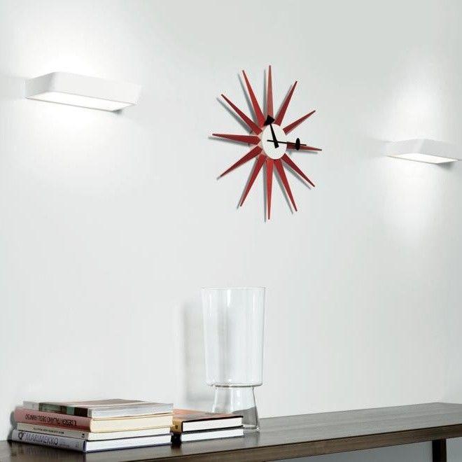 vitra lighting. vitra sunburst clock nelson lighting