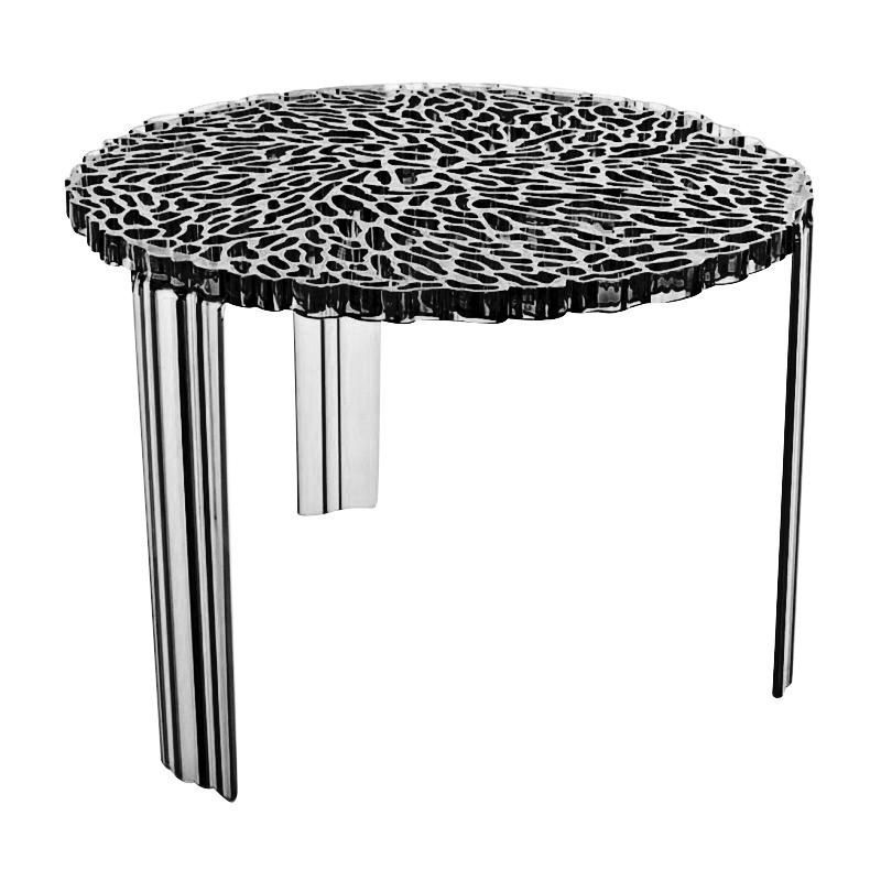 T table side table 36 kartell for Table kartell
