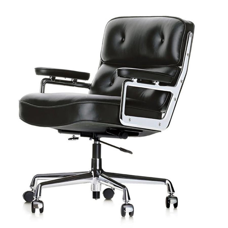 Charles Eames Bureaustoel.Vitra Es 104 Eames Lobby Chair Office Chair Ambientedirect