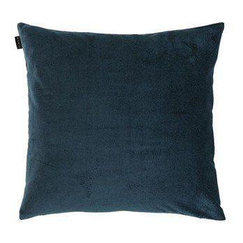 Linum - Marcel Kissenhülle 50x50cm - dunkelblau/mit Steg und Reißverschluss/ohne Federfüllung
