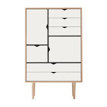 Andersen Furniture - Andersen Furniture S5 Cupboard White Fronts