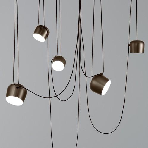 Flos - Aim Small LED Pendelleuchte mit Schukostecker