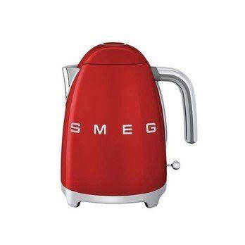 Smeg - SMEG KLF01 Wasserkocher 1,7L - rot/lackiert/integriertes Heizelement/Soft-Opening