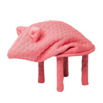 Petite Friture - Petstools Daisy Hocker - pink/Ø48cm/H 60cm