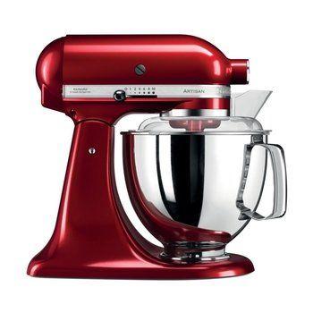KitchenAid - KitchenAid Artisan 5KSM175 Küchenmaschine - liebesapfel rot/glänzend/Kabellänge 145cm