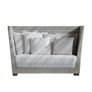 Gervasoni - InOut 502 Polyrattan Outdoor 2-Sitzer Sofa