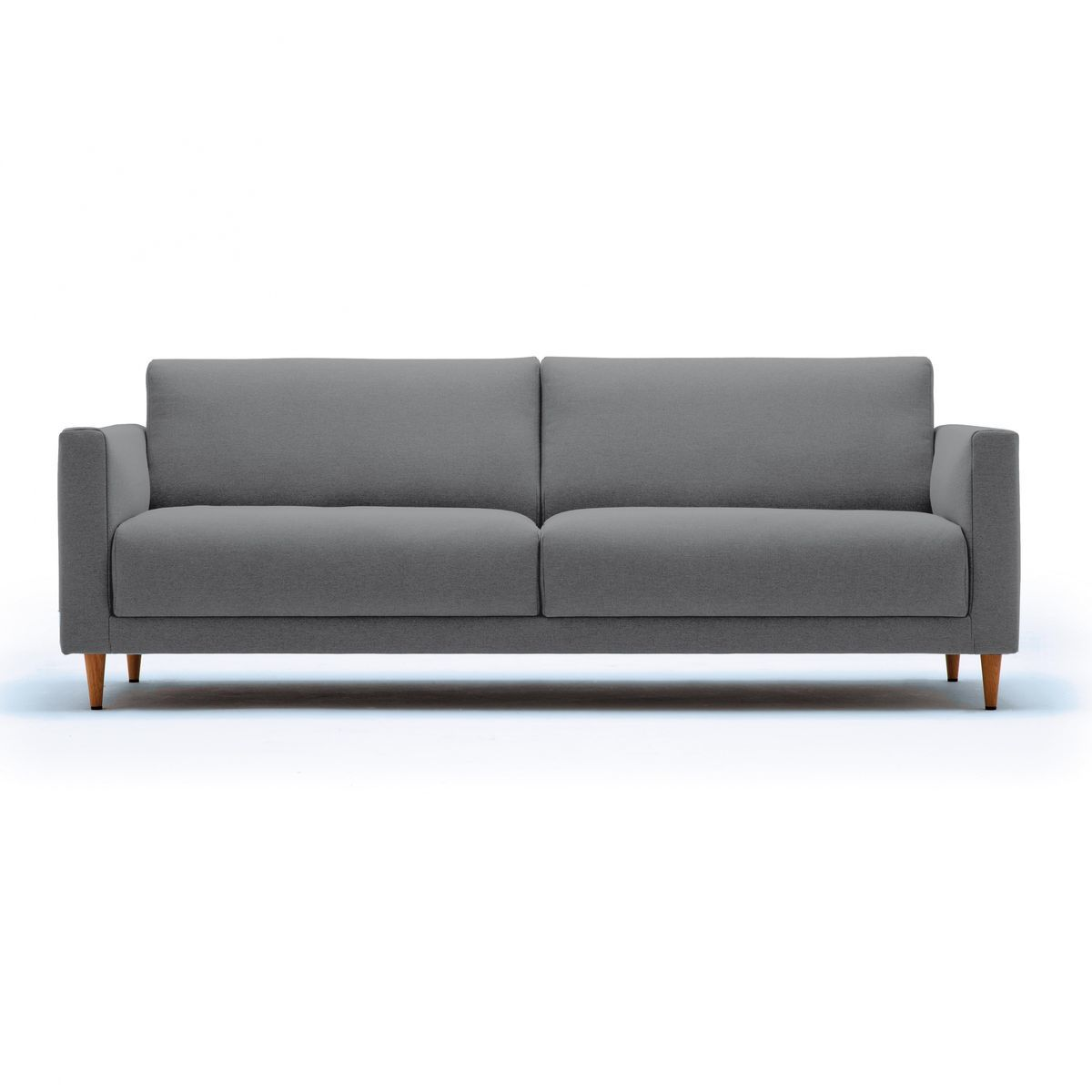 Freistil 141 3 seater sofa frame wood freistil rolf benz for Sofa benz rolf
